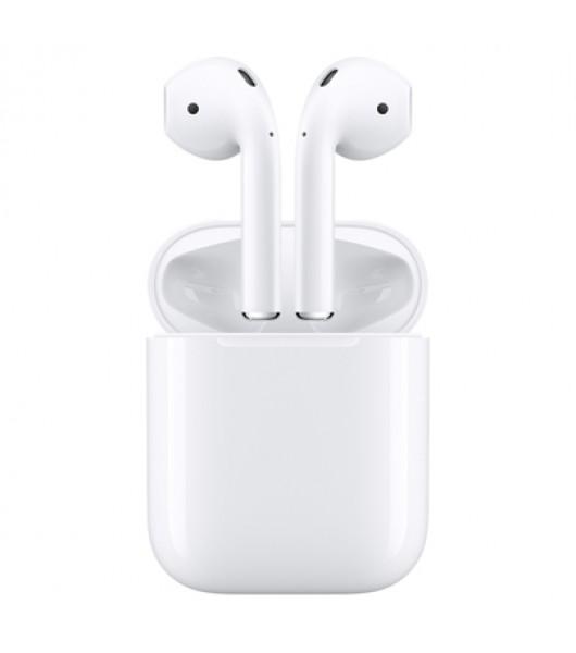 Apple AirPods 2 (2019) наушники в футляре с возможностью беспроводной зарядки