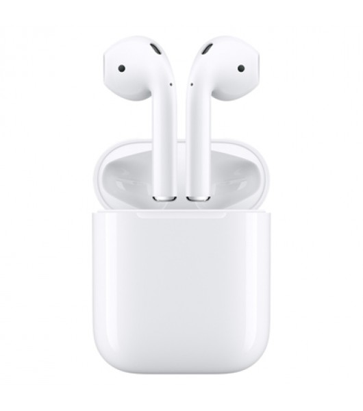Apple AirPods 2 (2019) наушники в зарядном футляре