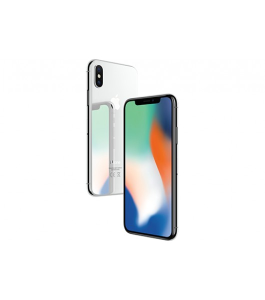 Apple iPhone X 256ГБ серебристый