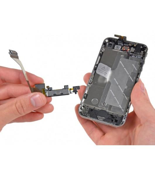 Замена шлейфа разъема зарядки iPhone 4S