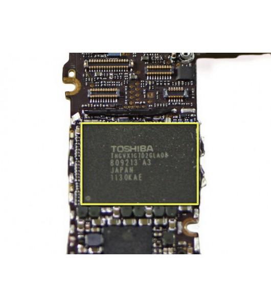 Замена Flash памяти / Nand iPhone 4S