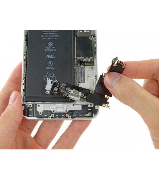 Замена шлейфа разъема зарядки iPhone 6 Plus