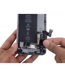 Замена шлейфа разъема наушников iPhone 6 Plus